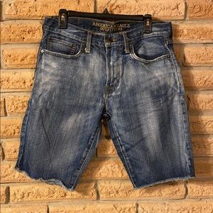 American Eagle Jean Denim Shorts Slim Straight